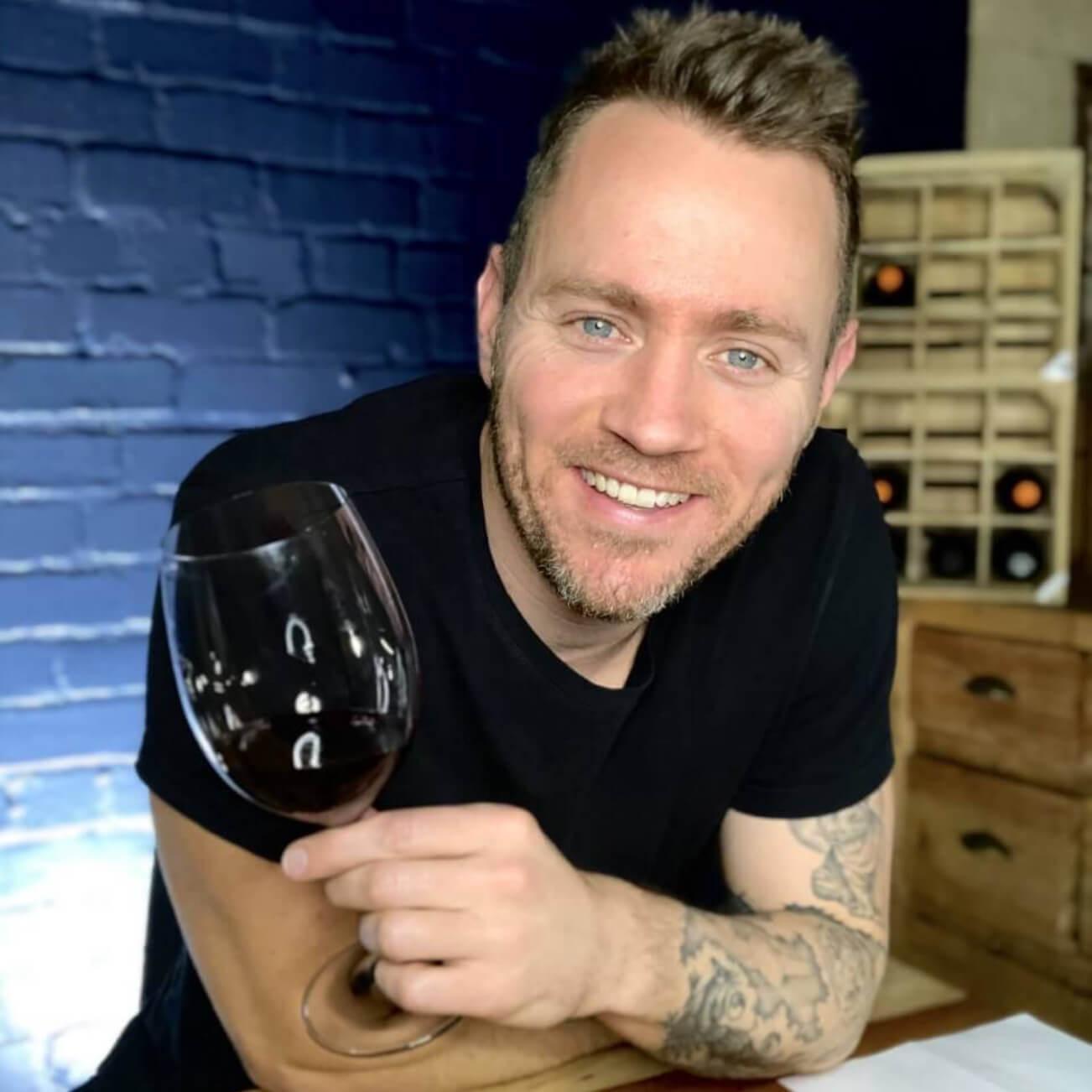 Wine journalist Jono Le Feuvre